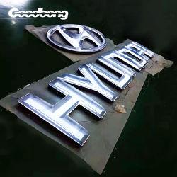 Goodbong Produttore 3D vuoto formando acrilico LED Car Logo e. Segno lettere
