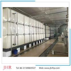 FRP GRP прямоугольного сечения из стекловолокна SMC фермы резервуар для воды