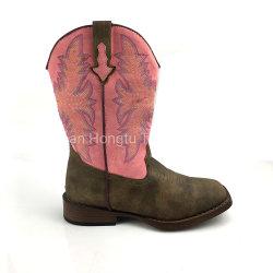 De Laarzen van de Cowboy van de Laars van de Touwslager van het leer