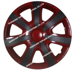 새로운 형! 아BS /PP 플라스틱 쌍둥이 색깔 차 센터 자동차 휠캡 바퀴 덮개
