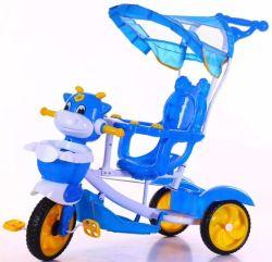 طفلة جديات طفلة يدحرج عمليّة ركوب على درّاجة ثلاثية درّاجة 3 4 في 1 ذكيّة [تريك] والد مقبض