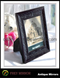 Cadre photo traditionnel en bois antique