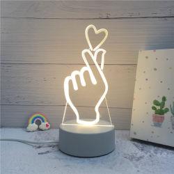 مبتكر [3د] [لد] يشعل ليل جديد وهم ليفة مصباح