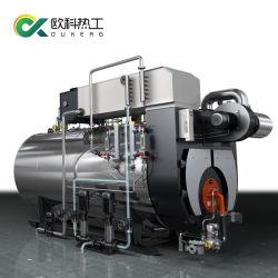 Generatore di vapore infornato diesel del combustibile 5t/H di rendimento elevato di fuoco del gas doppio del tubo