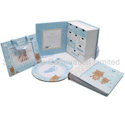 Мода подарок поле бумаги с помощью фотоальбомов, рамка для фотографий