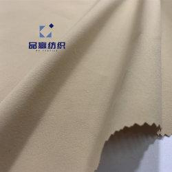 Ym2121 75D Tecido de poliéster tecidos simples 4 Quatro Caminho Spandex para desportos