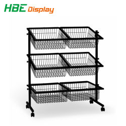 Display A Cestello Per Rack China Wholesale Metal Wire Display