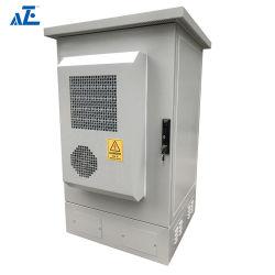 工場100%カスタムAze 27ruは電気通信の評価される屋外の金属のキャビネットのIP55によって評価される灰色を防水する