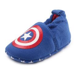 Bebé lunares de algodón suave caminar sola cuna zapatos Esg10331