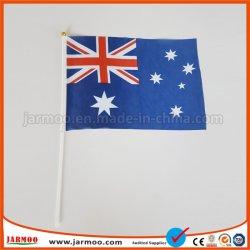 Golvende Vlag van de Hand van de douane de Mini Nationale voor Verkoop