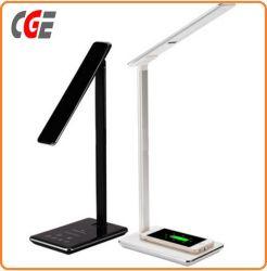 LED-Schreibtisch-Lampe mit Anzeigen-des Licht-LED Licht der Telefonqi-drahtlosem schnellem Aufladeeinheits-LED hellem LED Buch-Lampen-Großverkauf-Tisch-Lampen-Büro-des Tisch-LED