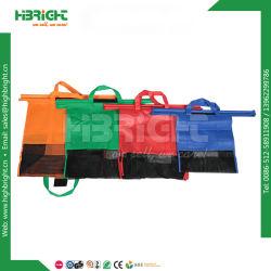 4容易で再使用可能なナイロンショッピングトロリーカート袋