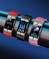 Bm08 Body Fat Detection USB Charging Sport Bluetooth Health Smartwatch