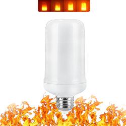 E26 E27 E14 E12 LED 프레임 사격효과 시뮬레이트한 성격 전구 장식 대기권 램프