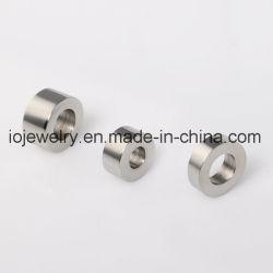 Gravure personnalisée billes en acier inoxydable pour la fabrication de bijoux