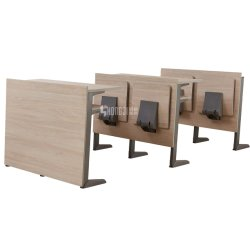 講義室家具教室パブリック学生用デスクと椅子