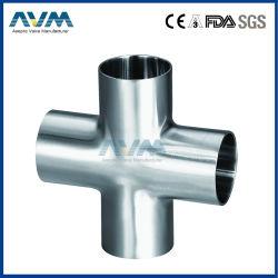 Traversa sanitaria della saldatura del T degli accessori per tubi dell'acciaio inossidabile