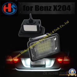 Lampe de plaque de numéro de l'arrière pour le BENZ Glk X204 (SH-LED002)