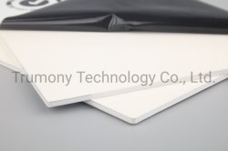 3mm a 4mm PE Revestimento de PVDF Fachada à prova de painel composto de alumínio ACP