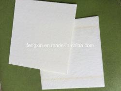 Papel de isolamento do separador da bateria branca da fibra de vidro do AGM