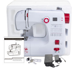 La macchina per cucire della famiglia di zigzag di prezzi nazionali della farfalla parte (FHSM-702)