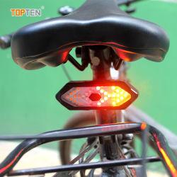 USB 充電式ライト自転車テールライト自転車アクセサリリヤライト バイクライト( KH )