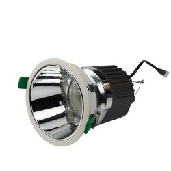 ダイカストのアルミニウム点のTrimless 10W 20W 30Wの正方形の引込められた穂軸LED Downlightを