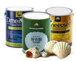 Eliminación de bacterias de la pared interior de las pinturas para hogar y los inmuebles