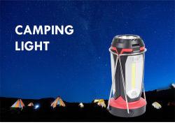7PCS COB 캠핑 램프 휴대용 슈퍼를 사용한 최고의 내구성 판매 밝은 LED 캠핑 램프 하이킹 헌트