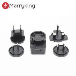 범용 분리 가능 플러그 5V 3.1A USB 충전기 벽면/배터리 충전기 이동 휴대폰용 충전기