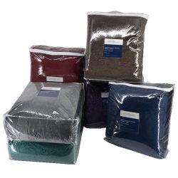 Оптовая торговля 3D рельефным бархата подкладка из флиса с мягким шерпа реверсивный офсетного полотна