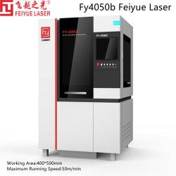 FY4050b صناعة بطاريات الليثيوم الجديدة قطع غيار السيارات ليزر Feiyue CNC قطع المعادن آلة نحاس تيتانيوم ألومنيوم الكربون من الفولاذ المقاوم للصدأ قاطع ليزر