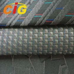 100% polyester imprimé Sellerie tissu jacquard voiture pour les bus coiffe de siège