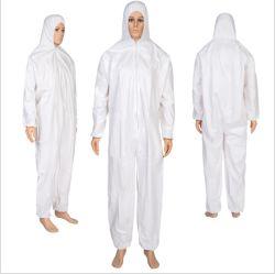 Vêtements de protection jetables EPI Vêtements de protection adaptés à une seule pièce