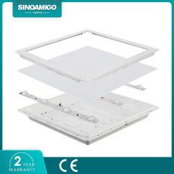 شاشة PF>Ra80 غائرة مزودة بتقنية مقاومة للتوهج مزودة بتقنية Flicker Free بإضاءة خلفية رفيعة جدًا بدقة 0.9 لوحة سقف LED خفيفة 600x600 600X1200 مم سعر جيد