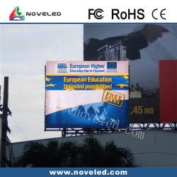De alto brillo exterior impermeable color P4/P5/P6/P8/P10 en la pantalla de LED grandes vallas publicitarias