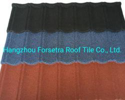 標準屋根装飾用装飾石コーティング金属クラシックアルミニウムスチール屋根 家のためのタイル