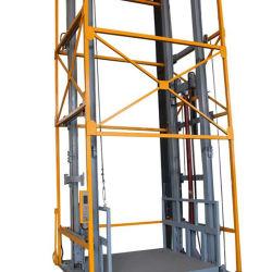 Qiyun의 새로운 300kg~1000kg 유압 화물 리프트 화물 적재 고정식 창고 엘리베이터 저가 제품 유압 화물 플랫폼 테이블