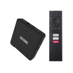 Android Market 9.0 Caixa de TV Km1 Smart Box Amlogic S905X3 4GB de RAM 64GB ROM 2.4G/5g Bt WiFi 4K Media Player para o Youtube 1080P