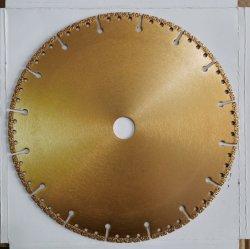 Le béton de haute qualité Electroplate guérir les lames de scie pour la coupe de la machine