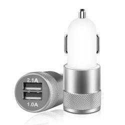 Двойной интерфейс USB Выход 5 В 2A автомобильными зарядными устройствами, быстрая зарядка для продажи