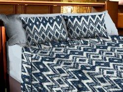 綿 100% の家の織物の柔らかい綿キルトのカバーのマイクロファイバーのように クリスタルベルベットのベッドセット、羽毛布団カバーセット