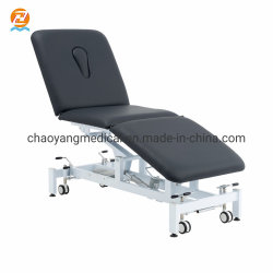 높이 조절 가능한 디럭스 마사지 침대 트리트먼트 테이블 Cy-C108