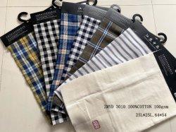 De in te ademen en Comfortabele Duidelijke Stof Zmyd 3010 van het Linnen Y/D 25s Zuiver Linnen voor de Textiel van het Huis voor Overhemd voor Stoffering voor Beddegoed