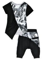 Custom одежда дышащий материал из 100% хлопка печать стиле модного дети T футболка