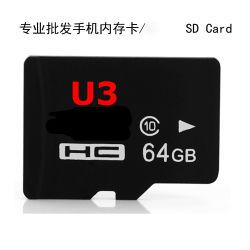 64G TF van de Kaart van het geheugen het Geheugen van de Kaart van de Kaart Class10 van de Kaart BR 64GB U3 32GB 16GB