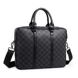 高品質のラップトップの袖袋人のブリーフケース大きい容量のコンピュータ袋のラップトップ袋ビジネスポートフォリオ旅行はデザイナー袋を袋に入れる
