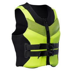 Ajuste de tamanho excessivo jaqueta de vida / Flutuação pessoais amarelo / cinza 205137