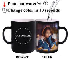 Tazza in ceramica color changing tazza omaggio promozionale tazza Magica sublimazione Tazza in ceramica colorata
