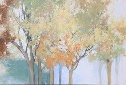 Photo sur toile, huile de l'automne récolter des arbres de peintures. Mur de photos pour la décoration d'Ol-2007113 taille 24X36 pouces